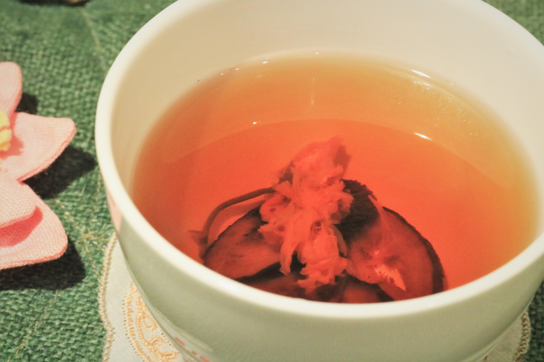 バードックの(桜→菊)茶