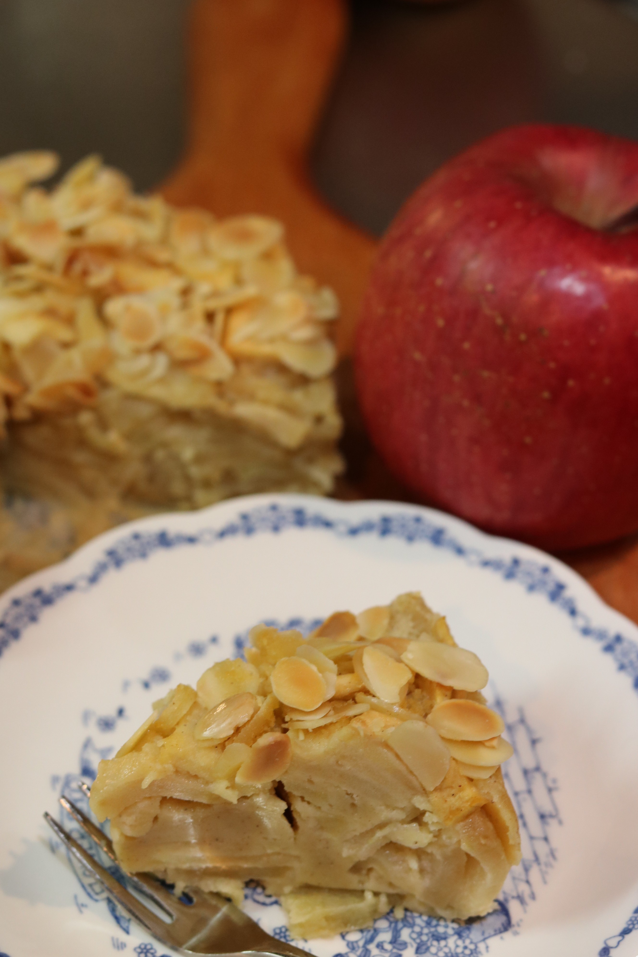 りんごのガトーインビジブルの試食
