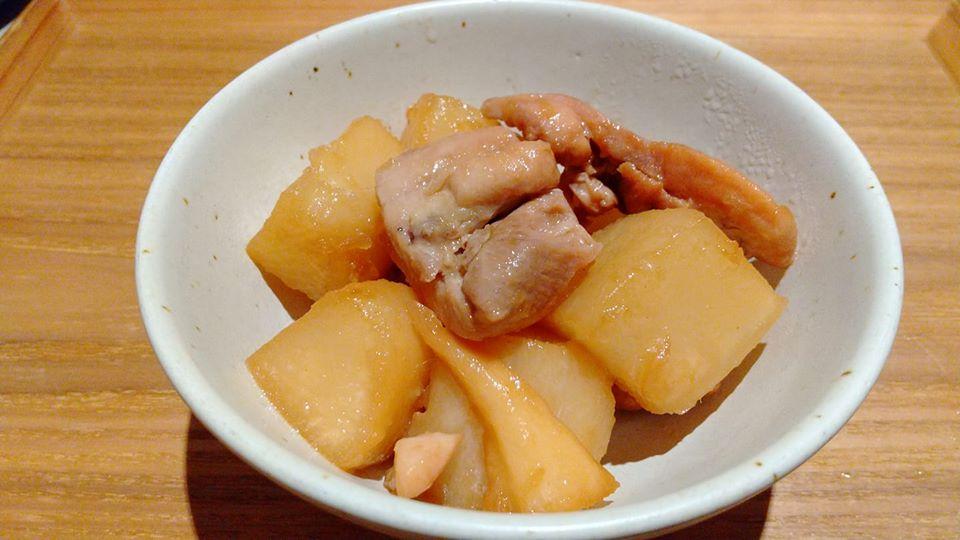 大根と鶏肉の生姜炒め煮