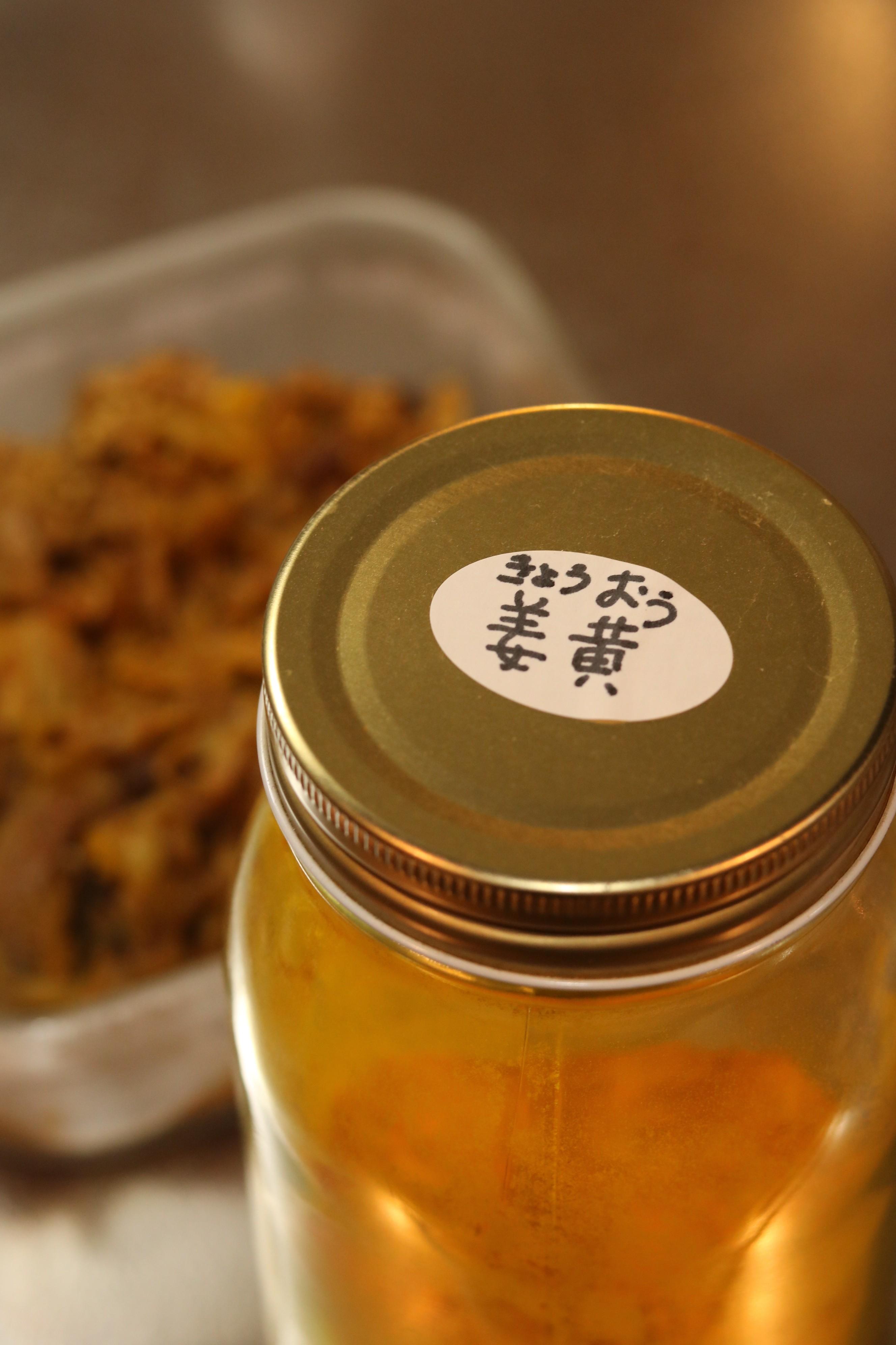 姜黄と豚小間のカレー炒め