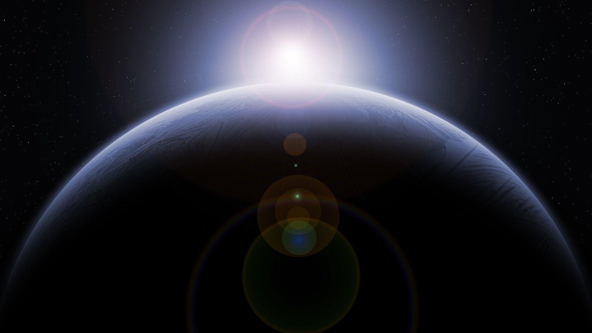 地球上の生命と光