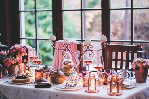 クリスマスの薬膳テーブルイメージ