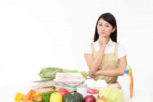 生活習慣病の料理に悩む主婦