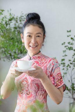 ハーブ薬膳茶と須崎桂子