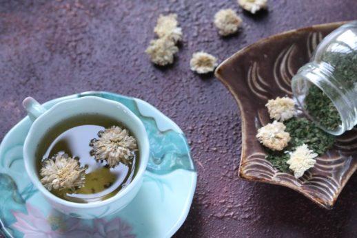 桑葉菊花茶