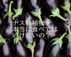 アイキャッチナス科植物