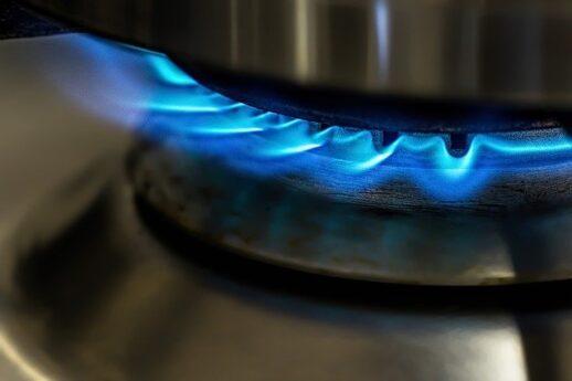 ガスコンロの火