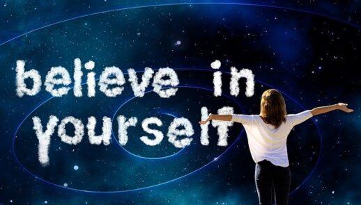 自らを信じよう!