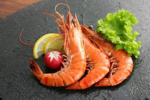 海老の調理例