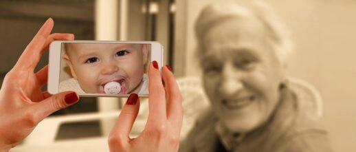 赤ちゃんから老化するプロセス