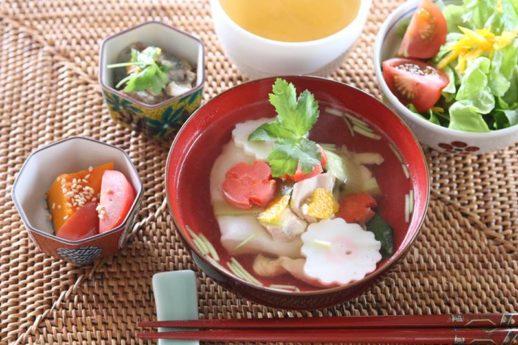 柚子と三つ葉の香りのお雑煮